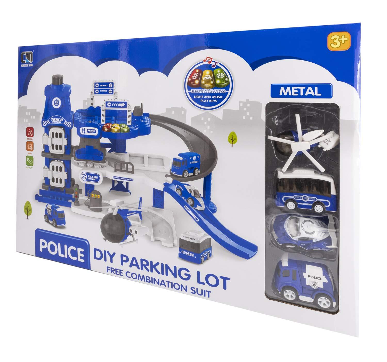 ToysOutlet Parking lot Lot 5406367980. Parking. Police Model.
