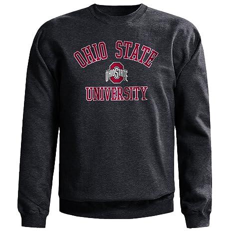 Amazon Com Ohio State Buckeyes Crewneck Sweatshirt University