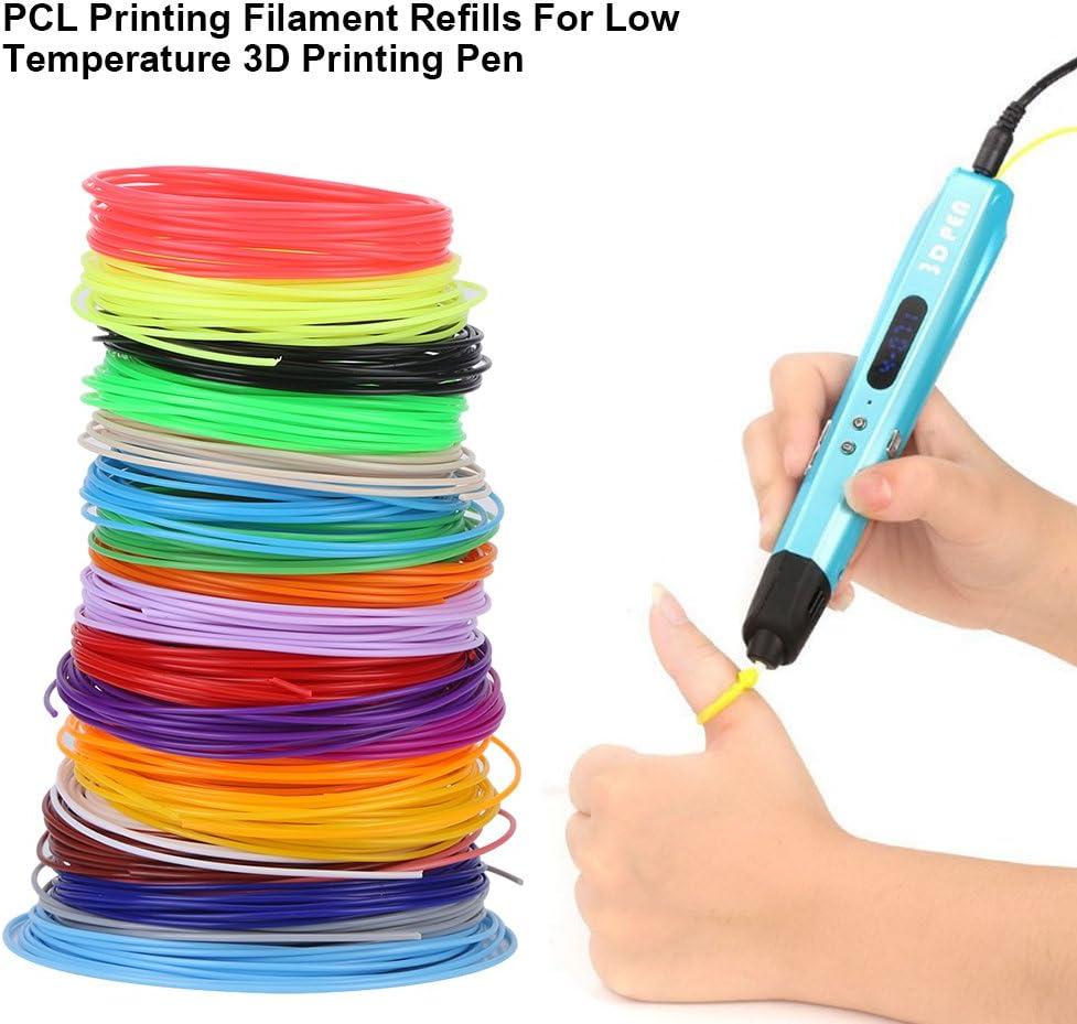 Filamento de PCL Filamento de Pluma de Impresora 3D 1.75 Filamento ...