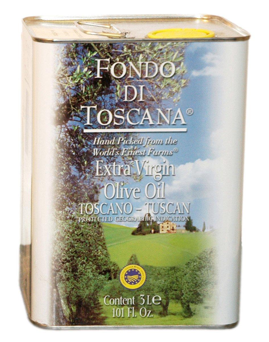 Fondo di Toscana Extra Virgin Tuscan Olive Oil, 101 Ounce by Fondo di Toscana (Image #1)