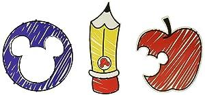 Eureka Mickey Color Pop! Paper Cut Outs (841335)