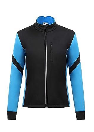 Men s Thermal Cycling Jersey Long Sleeve Snow Water Reflective Windproof  Firewall Winter Biking Jacket (Small 446241519