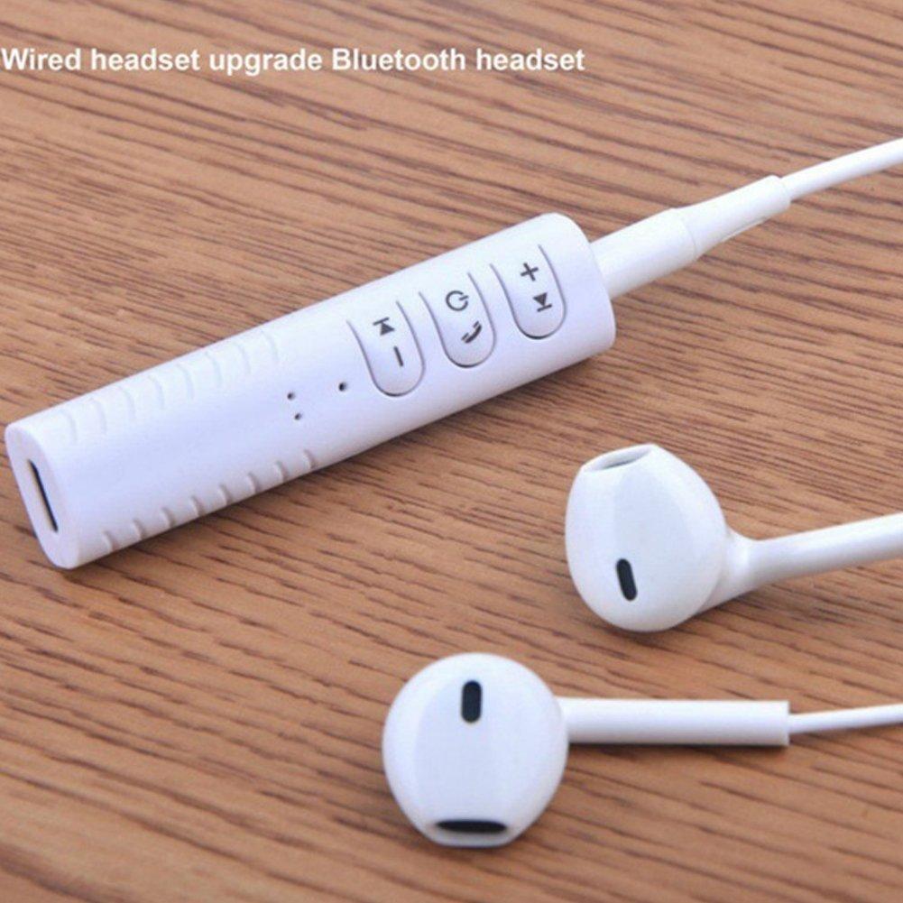 Bluetooth receptores de componentes de Audio BK 1 Alivier Adaptador AUX Adaptador port/átil Bluetooth 4.1 para Coche transmisores de Bluetooth