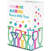 PREGMATE 30 Alcohol Breast Milk Tests Breastmilk Strips (30 Count)