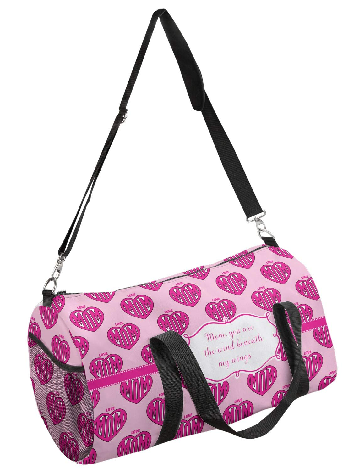 YouCustomizeIt Love You Mom Duffel Bag Multiple Sizes