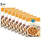 Basu's HomeStyle Chicken Tikka Masala fully prepared entrée pouch (7oz x 8 pack) - Indian curry flavors from home