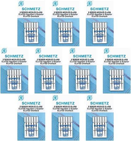 size/80//12 Box of 10 cards 50/Schmetz/ELx705 Sewing Machine Needles