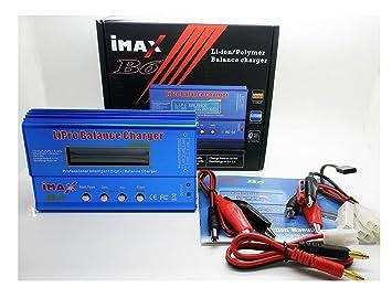 Cargador Balanceador IMAX B6 para Baterias Li-Ion Lion Lipo ...