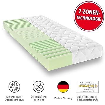 7 Zonen Matratze Kaltschaummatratze Schaummatratze 100 x 200 cm H3 16cm Höhe