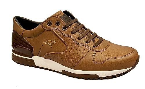 42 Amazon 50 Sport es Zapatos De Kangaroos 407 Piel Marrón w8ZFCqx
