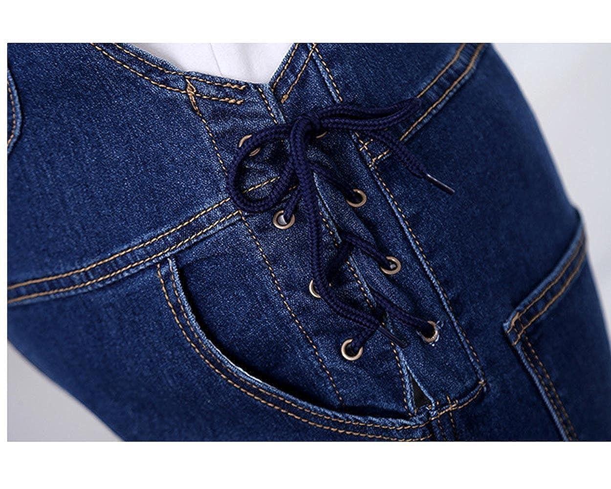 0c02465201e8 Amazon.com  Tech BS Adjustable Denim Maternity Overalls Protect The Waist   Clothing