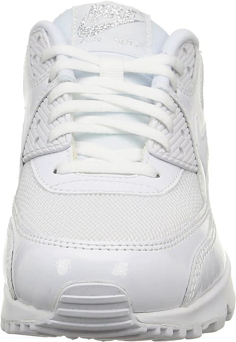 NIKE Air Max 90 Premium 443817 100 Women's FashionRunning Sneaker, 11.5