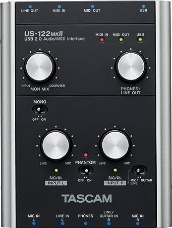 Amazon.com: Tascam US122MKII USB Audio/Midi Interface: Musical