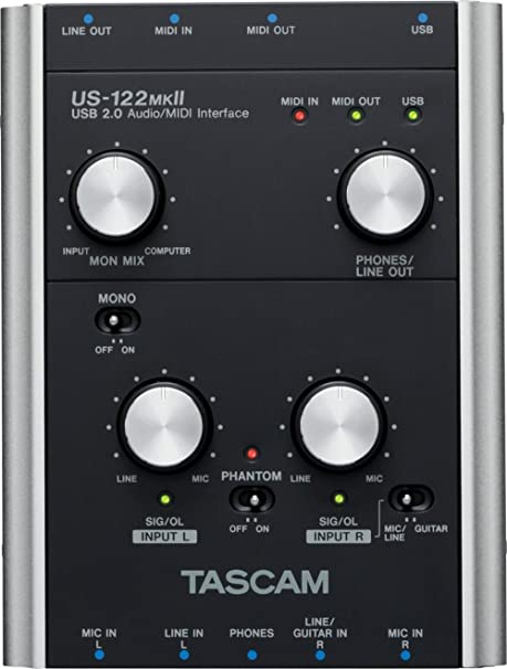 TASCAM US-122MKII Audio Interface Drivers (2019)