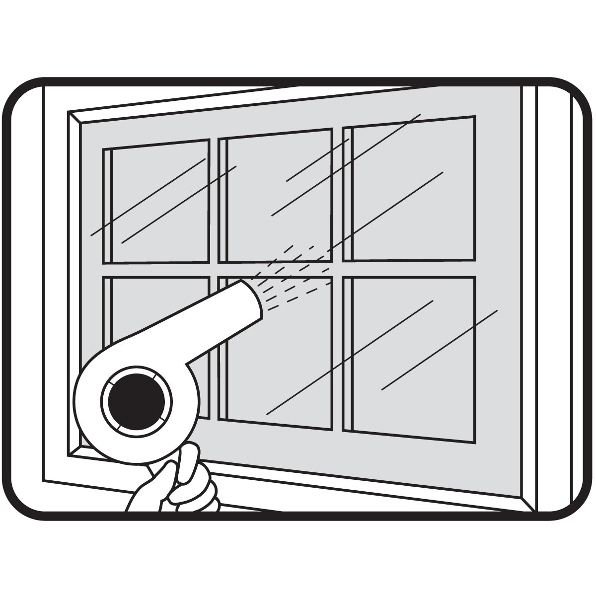 M-D Building Products 4200 210-Inch-by-62-Inch Shrink and Seal Window Kit 1