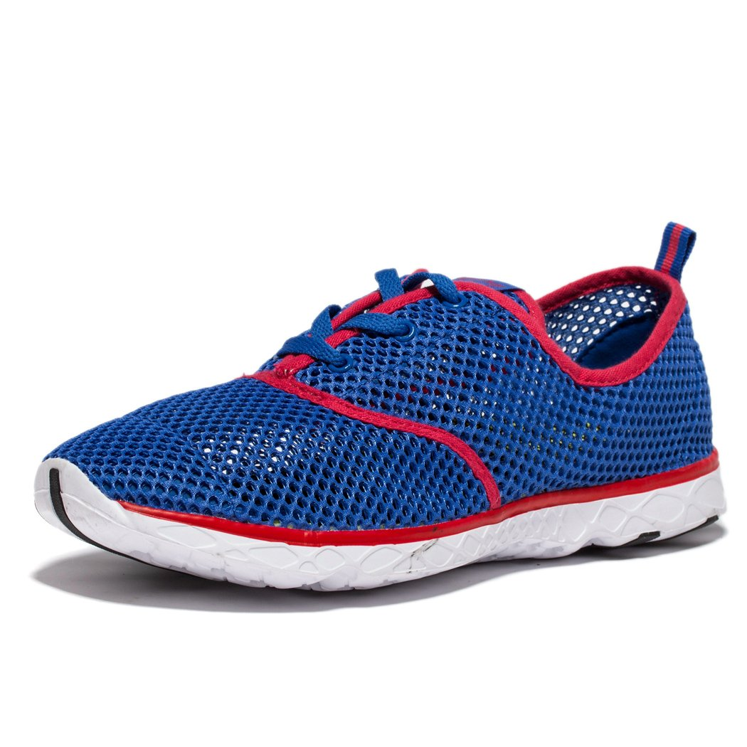 EVILDOER Men's Outdoor Quick Drying Water Shoes B073RDR84S 9.5  M US|Blue-red