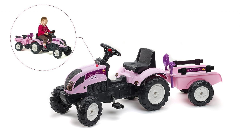 Trettraktor Mädchen - Falk Traktor Pink
