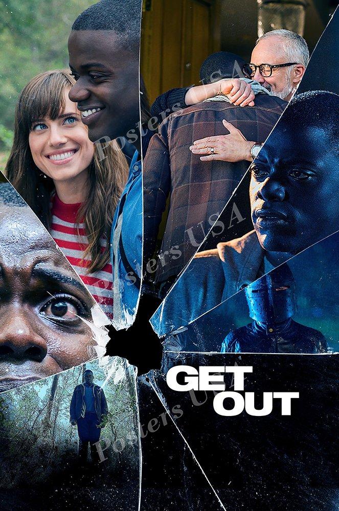 """PremiumPrints - Get Out Movie Poster - XFIL661 Premium Canvas 11"""" x 17"""" (28 cm x 43 cm)"""
