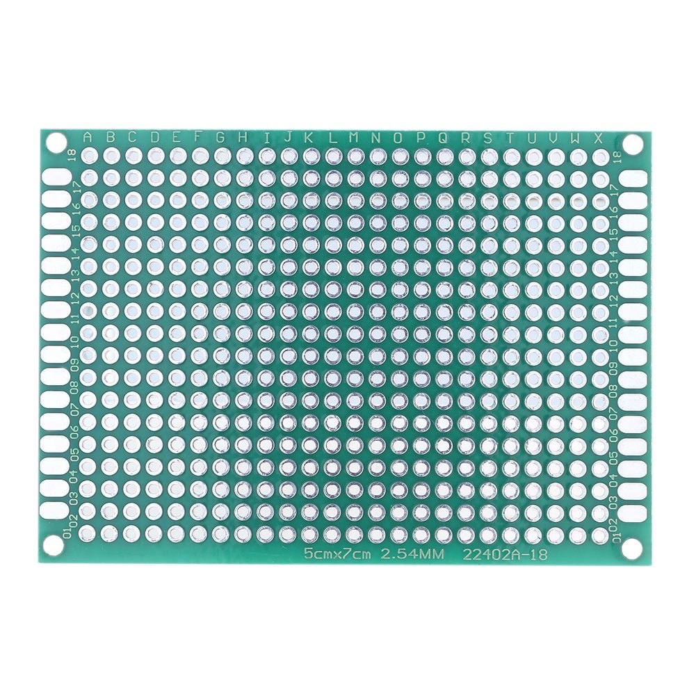 Jocestyle 10 Pcs Double Side Prototype Pcb Universal Printed Circuit Board Led Design Layout Services On Sale 10pcs 2x8cm Industrial Scientific