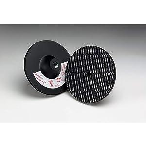 3M Disc Pad Holder 915, 5 in x 1/8 in x 3/8 in 5/8-11 Internal, 1 per case