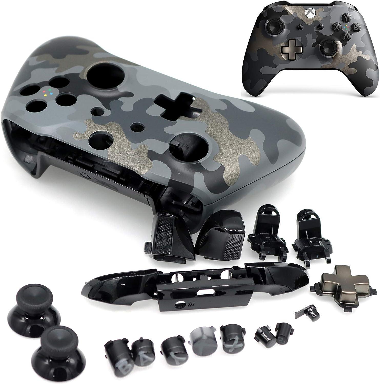 Deal4GO - Carcasa para Mando de Xbox One S, diseño de Camuflaje ...