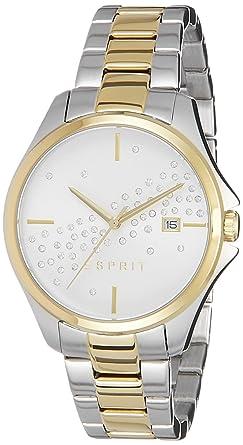 Damen Quarz Watch Analog Armbanduhr Mit Edelstahl Esprit Smart by7Yf6g