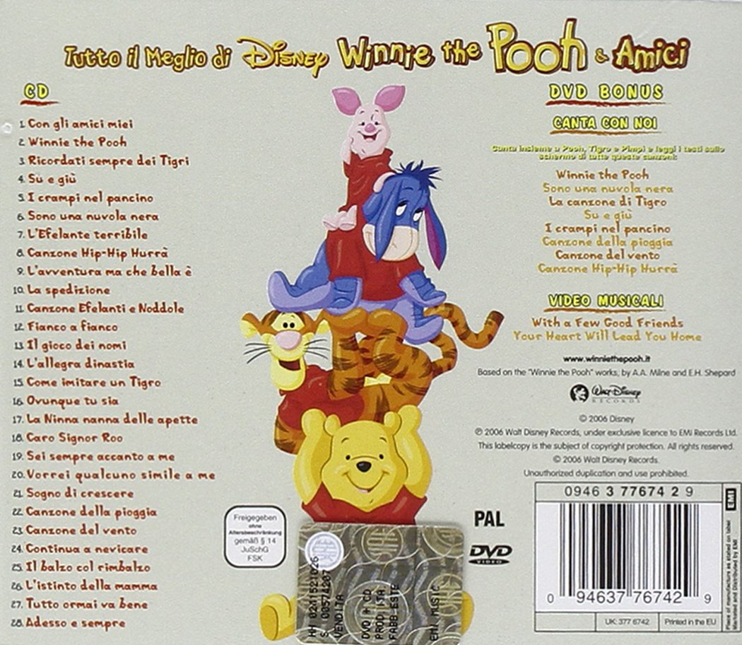- Il Meglio Di Winnie the Pooh - Amazon.com Music
