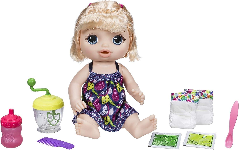 Multicolore Hasbro Baby Alive Baby Alive E0586ES0 Ragazza Dolce cucchiai Blonde Doll
