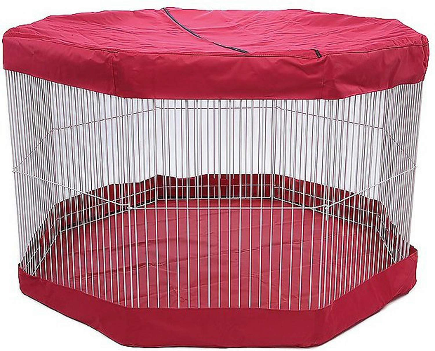 Marshall Mat/Cover for Small Animal Play Pens, Deluxe, 11 Panel, 2 Pack by Marshall (Image #4)
