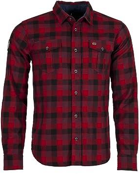Ternua Camisa Nokha Shirt M Hombre, Dark Red, L: Amazon.es: Deportes y aire libre