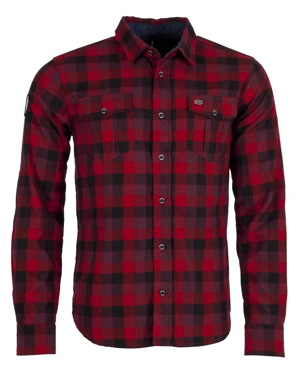 M Ternua /® Camisa Nokha Shirt M Hombre Dark Red