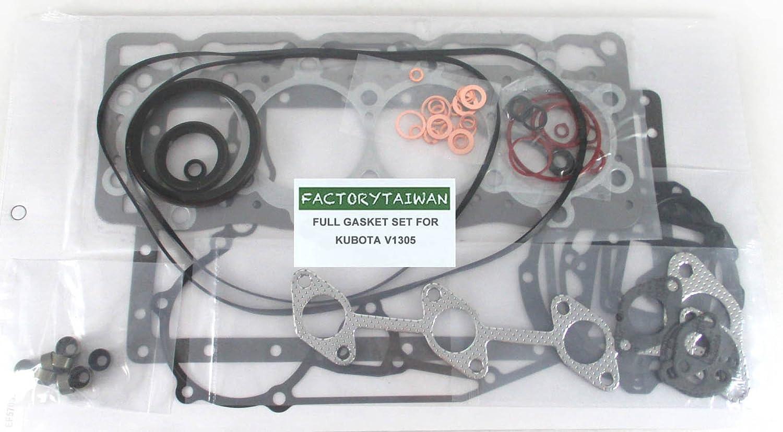 100/% Taiwan Made Factorytaiwan Full Gasket Set for Kubota V1305