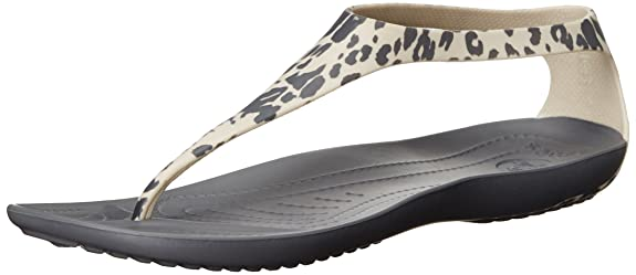Crocs Sexi Leopard Print Flip W Women Slipper Fashion Sandals at amazon