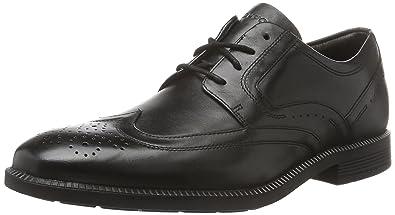 c894fa20af42e Rockport Dressports Modern Wingtip, Men Brogue, Black (Black Leather), 10 UK