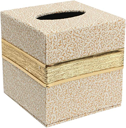 European Tissue Box Napkin Holder Paper Case Cover Home Office Decor