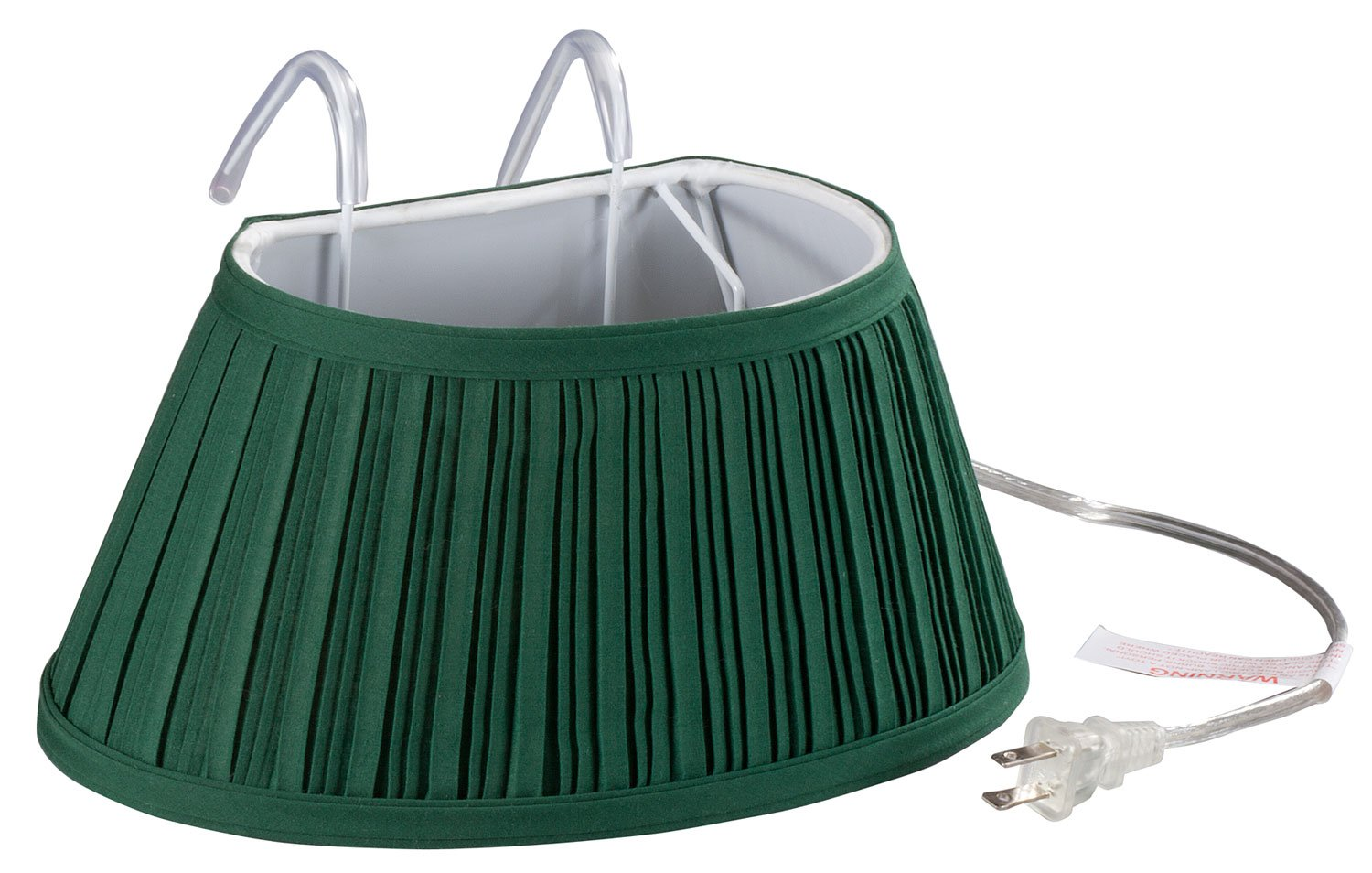 Miles Kimball Over-the-Bed Light with Colored Shade, Green