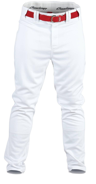 Rawlings Mens Baseball Pant White, Medium