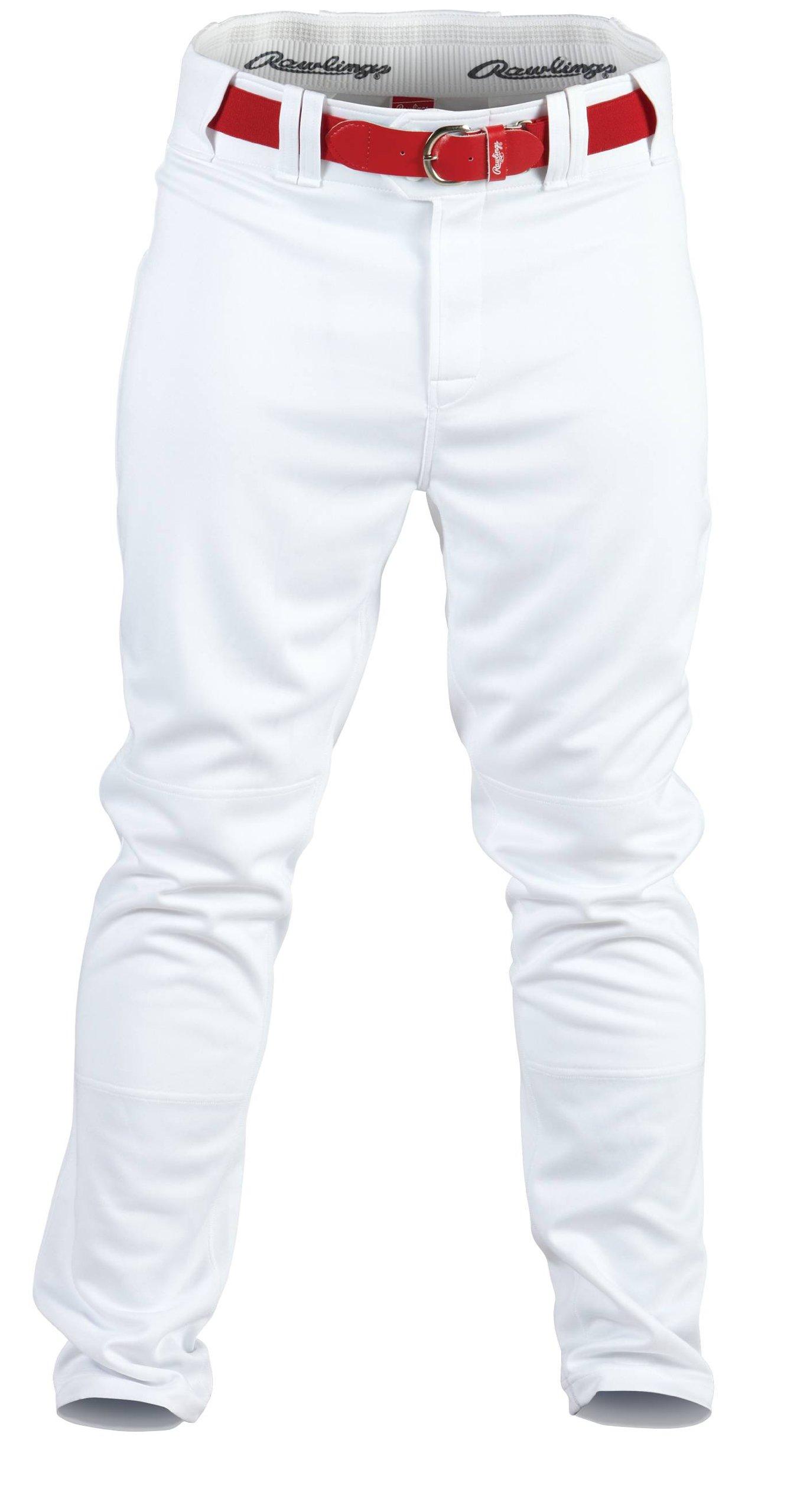 Rawlings Youth Baseball Pant (White, Small) by Rawlings