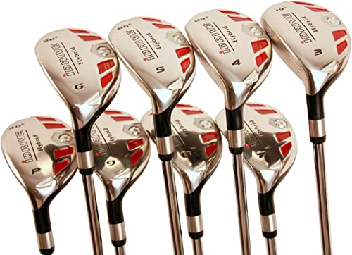 Left Handed Senior Men's Golf All iDrive Hybrids Complete Full Set