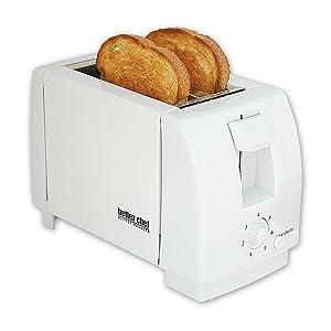 2 Slice Toaster Color: White