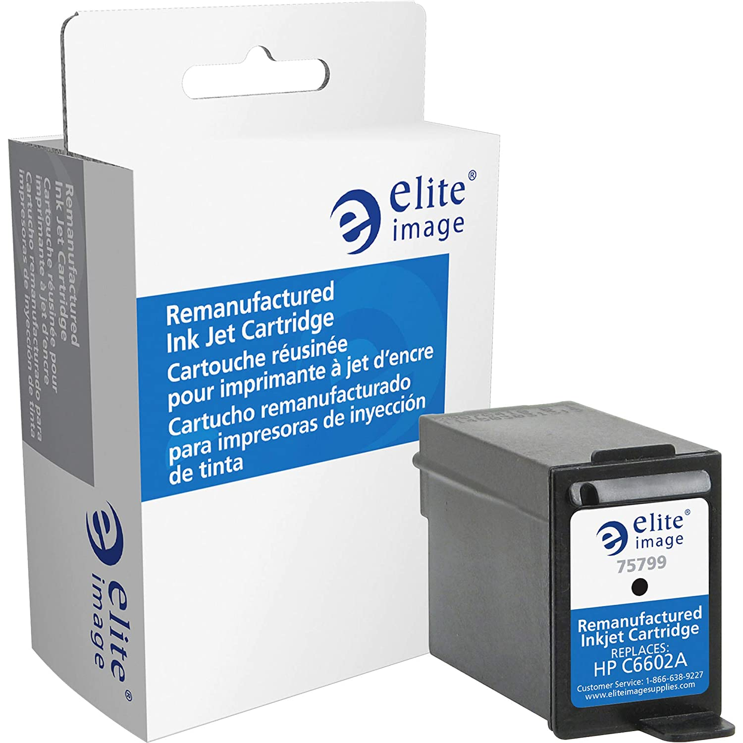 Elite Image Remanufactured Ink Cartridge - Alternative for HP (C6602A)