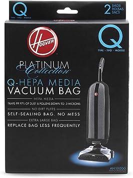 Genuine Hoover Hoover AH10000 Platinum Type Q HEPA Vacuum Bag