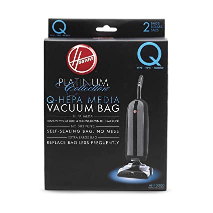 Amazon.com: Hoover AH10000 Platinum Type-Q HEPA Bolsa de ...