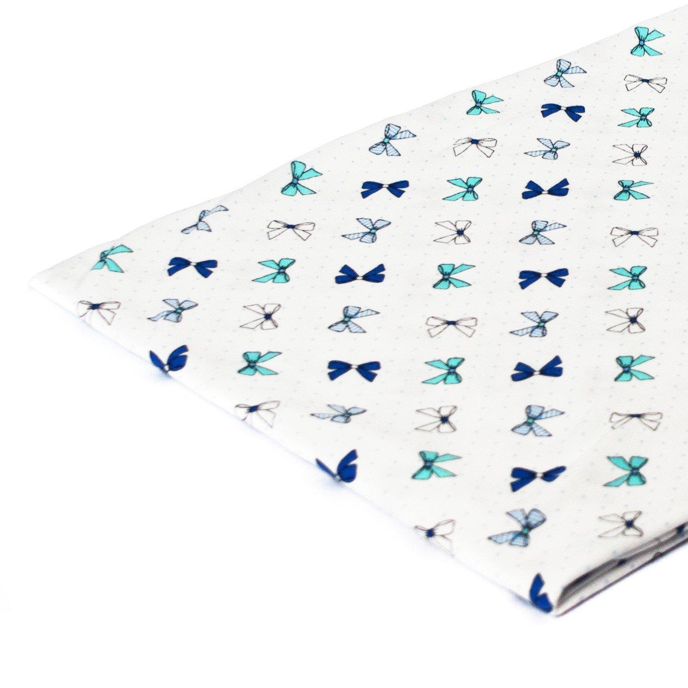 8/% Elastan 50 cm x 80 cm Cotone 50 x 160 cm 1buy3 Tessuto in Jersey a Fantasia al Metro Diversi Colori Disponibili 100 x 160 cm 50 x 80 cm 92/% Cotone Muster: Blumen Gr/ün//Blau