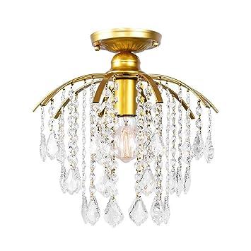 LIGHT YEARS Moderno K9 Lámpara de Techo de Cristal Araña ...