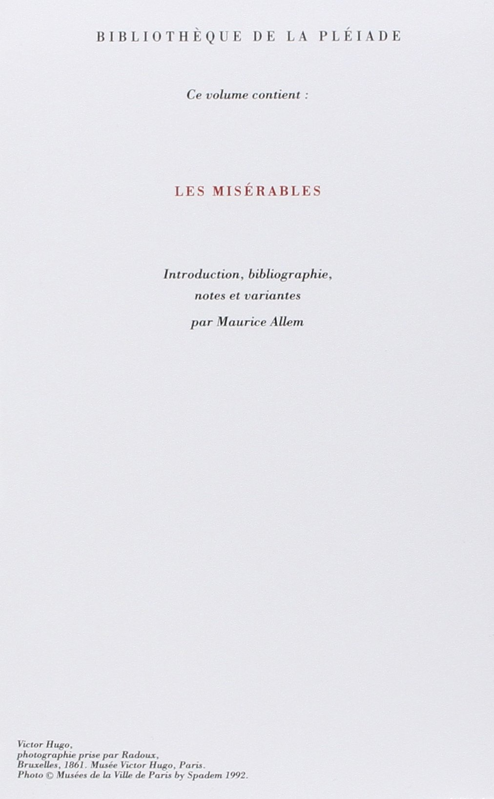 Les Mis  rables   Wikipedia Goodreads I
