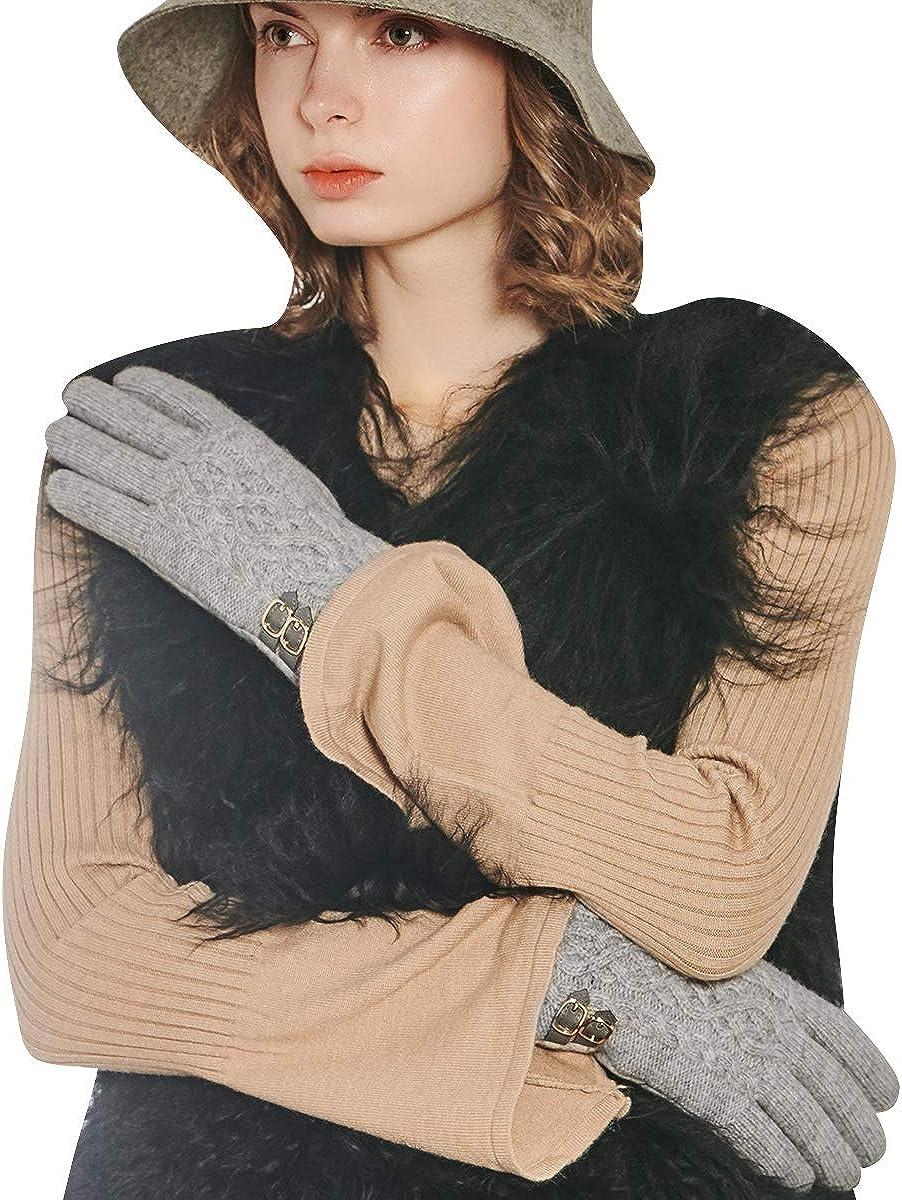 CACUSS Knit Gloves Winter...