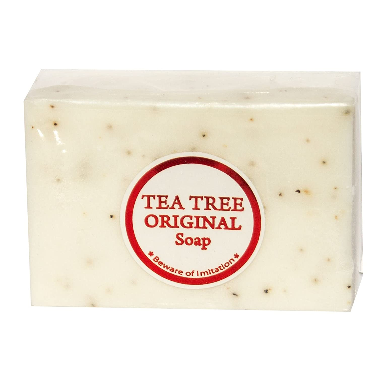 Original Tea Tree Soap - Antiseptic/Whitening Soap Bar for Acne Prone Skin W/ Kojic Acid and Vitamin E Beyond Perfection