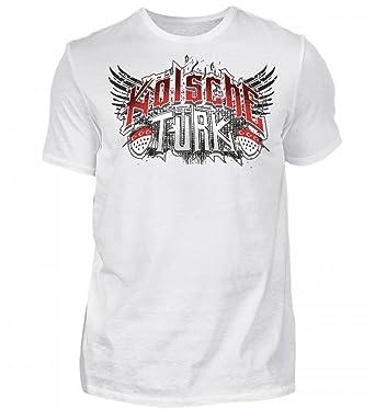 Shirtee Hochwertiges Herren Premiumshirt - Kölsche Türk Cologne  Amazon.de   Bekleidung 5b215ee67e