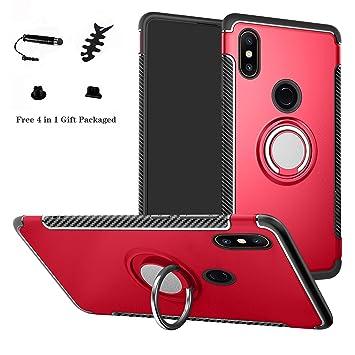 LFDZ Xiaomi Mi Mix 2S Anillo Soporte Funda, 360 Grados Giratorio ...